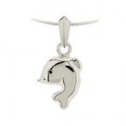 1580 gouden of zilveren dolfijn ashanger 1580z 1580g 1580w