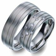 51650 Titan Factory titanium trouwringen