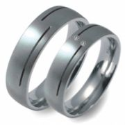 51664 Titan Factory titanium trouwringen