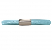 12111-21 Endless bracelet light blue single silver