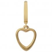 53202 Endless charm big heart gold
