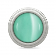 41360-4 Endless charm mint love dome silver