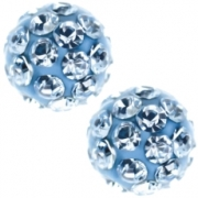 241 Oorknoppen Firebal Blue 4.5 mm
