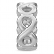 41167 Endless charm eternity circle silver