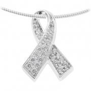 1130Z zilveren ashanger ribbon
