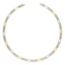08040-02 markant bicolour titanium collier Boccia  149