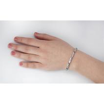 03008-01 titanium armband Boccia smalle schakels