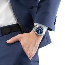 AW1620-81L voordelig stalen horloge Citizen blauwe plaat
