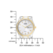 BM8434-58AE klassiek bicolour herenhorloge Citizen