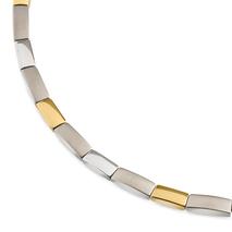 .9002-3286-06-SET bicolour titanium dameshorloge met gratis armband Boccia