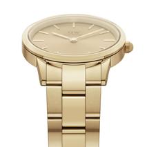 DW00100403 Daniel Wellington Dameshorloge Iconic Unitone Gold Doublé 28 mm