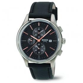 3756-02 sportief herenhorloge chrono titanium Boccia