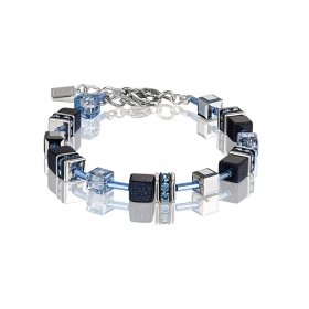 0721 armband Dark Blue Coeur de Lion 4015300721