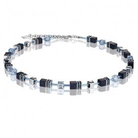 0721 collier Dark Blue Coeur de Lion 4015100721