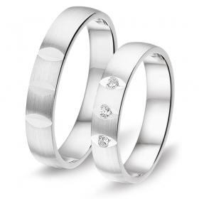 8636 zilveren relatieringen Alliance