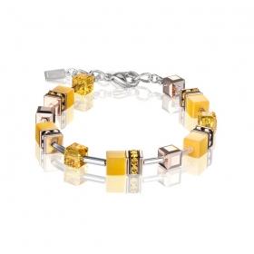 0100 armband Yellow Coeur de Lion 4016300100