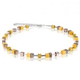 0100 collier Yellow Coeur de Lion 4016100100