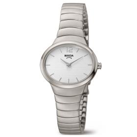 3280-01 elegant titanium dameshorloge