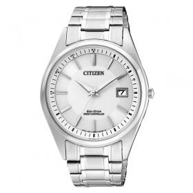 AS2050-87A eenvoudig zendergestuurd herenhorloge Citizen