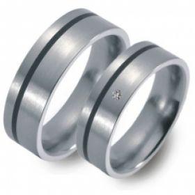 51022 Titan Factory titanium trouwringen