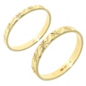 .4.3 gram een paar occasion gouden vriendschaps- of trouwringen