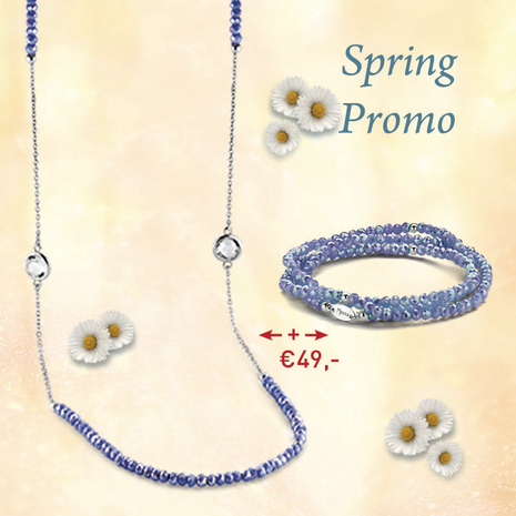 .27.0217+27.1217 MILKY L.BLUE armband en collier MY iMenso