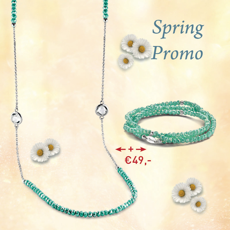 .27.0222+27.1222 TURQUOISE armband en collier MY iMenso