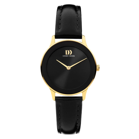 1288 Dameshorloge Danish Design Nostalgi Black Gold IV11Q1288