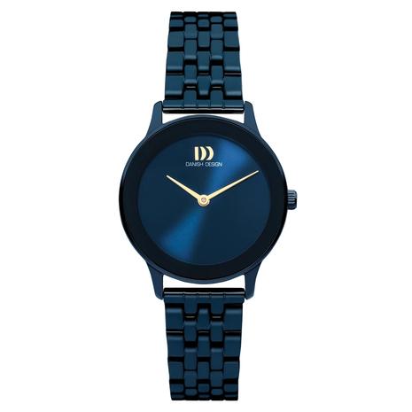 1288 Dameshorloge Danish Design Nostalgi Midnight Blue Link IV98Q1288