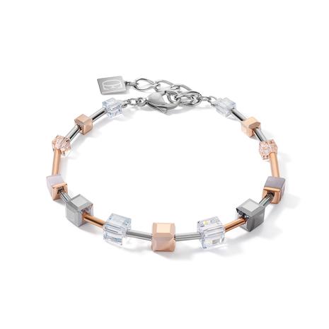 1631 Armband Rosegold-Silver Coeur de Lion 5061301631
