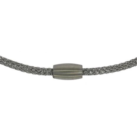 c 52830 45 cm ketting met magneetsluiting 3 mm breed staal