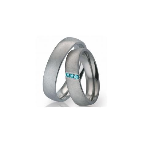 51911 Blue Titan Factory titanium trouwringen