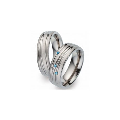 52291 Blue Titan Factory titanium trouwringen