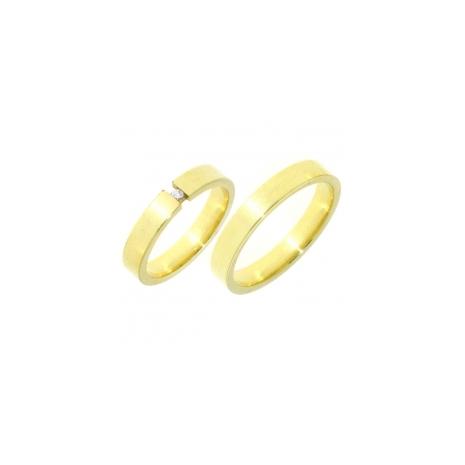 35 CAN333 Can Swiss gouden trouwringen