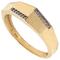 Damesring 5.371 hoekig model goud
