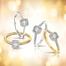 Een witgouden ring met subtiel verwerkt briljant