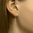 .Paperclip oorhangers 40.22871 Goud